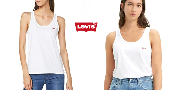 Camiseta de tirantes Levi's Essential Tank para mujer chollo en Amazon