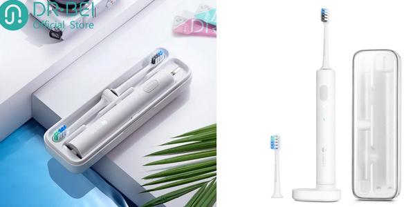 Cepillo de dientes recargable Xiaomi Dr. Bei + cabezal repuesto +estuche barato en AliExpress