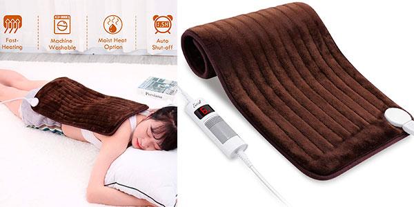 Chollo Almohadilla térmica eléctrica Entil para cuello y hombros