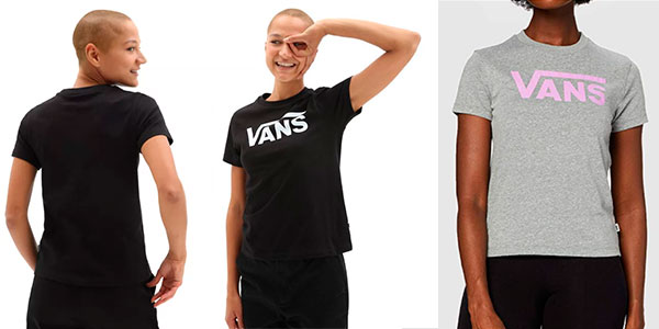 Chollo Camiseta Vans Flying V para mujer