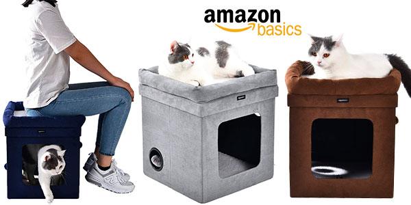 Chollo Casa para gato AmazonBasics plegable