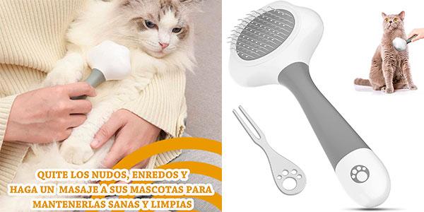 Chollo Cepillo masajeador Laika para gatos y perros