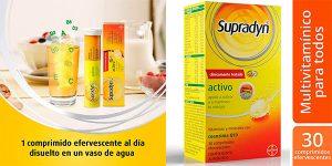 Chollo Complemento multivitamínico Supradyn Activo con minerales y coenzima Q10 de 30 comprimidos