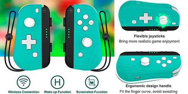 Chollo Controlador inalámbrico Proslife con turbo y vibración para Switch