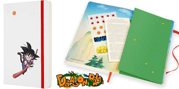 Chollo Cuaderno grande Moleskine Dragon Ball Goku