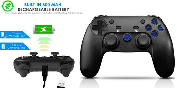 Chollo Gamepad Chereeki inalámbrico para Switch con Bluetooth, giroscopio y vibración dual