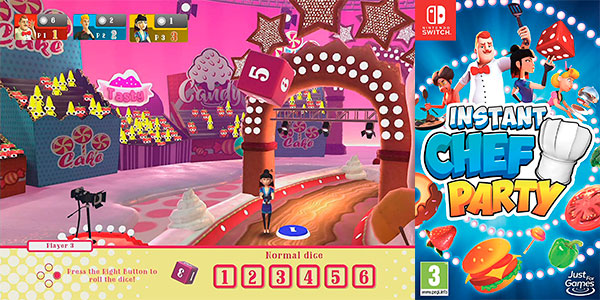 Chollo Instant Chef Party para Switch