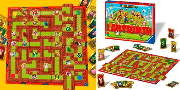 Chollo Juego de mesa Labyrinth Super Mario