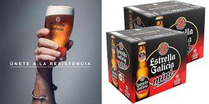 Chollo Pack de 24 cervezas Estrella Galicia Especial Mini de 20 cl