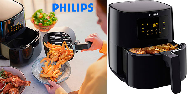 Chollo Freidora de aire caliente Philips Airfryer Essential de 1.400 W