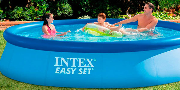 Chollo Piscina hinchable Intex Easy Set 28143NP de 7.290 litros