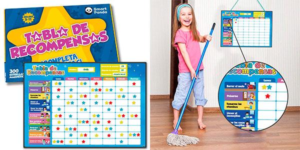 Chollo Tabla de recompensas magnética para niños