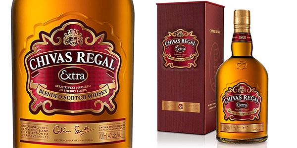 Chollo Whisky Chivas Regal Extra de 700 ml