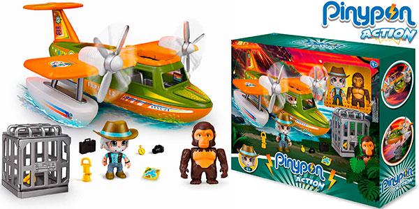 Chollo Set Hidroavión Pinypon Action Wild con 2 figuras