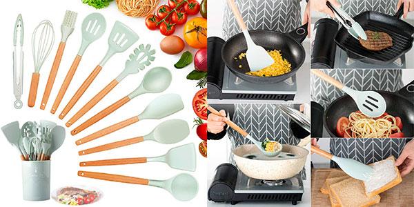 Chollo Set KagoLing de utensilios de cocina de 12 piezas