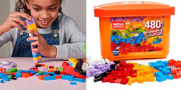 Chollo Set Montaje de bloques Mega Construx con 480 piezas