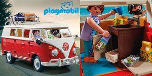 Chollo Set Volkswagen T1 Camping Bus de Playmobil