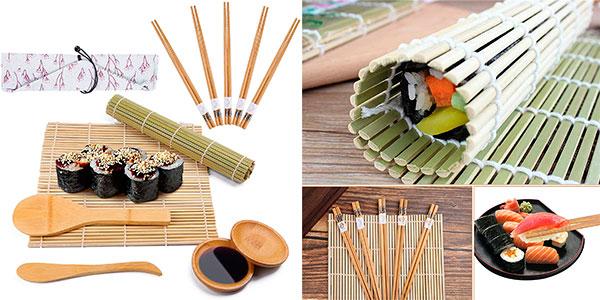 Chollo Kit Viesap de 12 piezas para hacer sushi