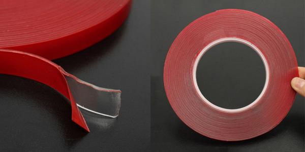 Cinta adhesiva transparente de doble cara de 3 metros chollo en AliExpress