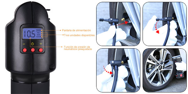 Compresor de aire portátil Oasser P2 oferta en Amazon