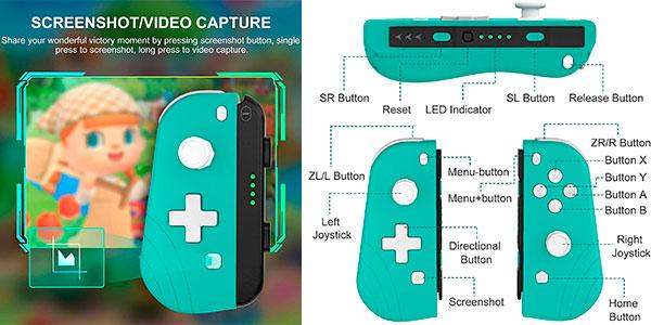 Controlador inalámbrico Proslife con turbo y vibración para Switch barato