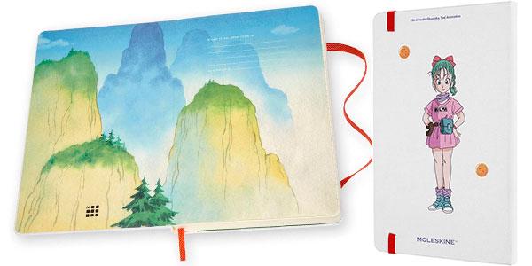 Cuaderno grande Moleskine Dragon Ball Goku barato