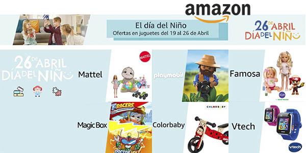 Día Niño Amazon ofertas juguetes