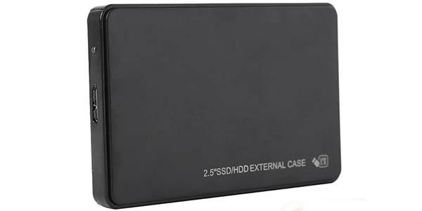 Disco duro externo portátil de 1 TB barato