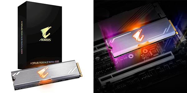 Disco SSD Gigabyte AORUS RGB M.2 NVMe de 512 GB