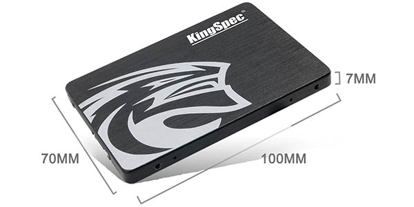 Disco SSD KingSpec de 512 GB barata