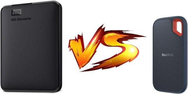 Discos duros portátiles vs discos SSD externos