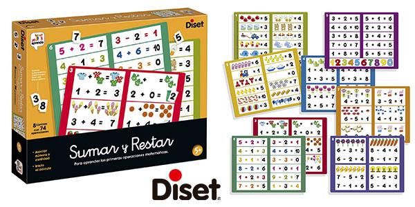 Diset Sumar y Restar juego educativo barato
