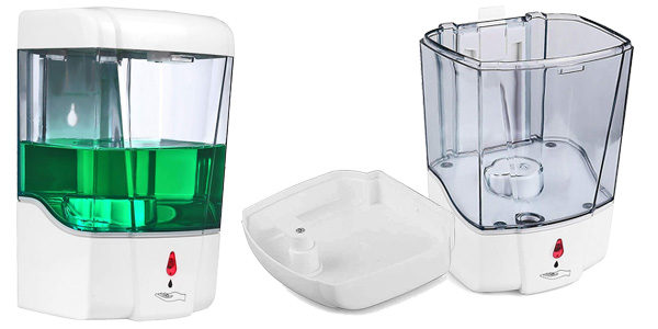 Dispensador automático de jabón Accede para montaje en pared de 700 ml chollo en Amazon