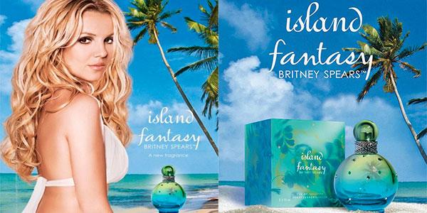 Eau de toilette Britney Spears Island Fantasy de 100 ml barata