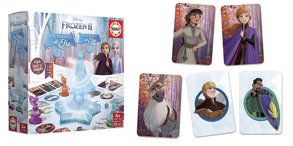 Educa Borrás Frozen II Poderes de Elsa juego chollo