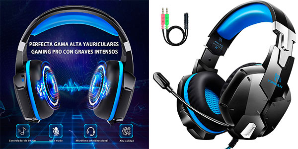 Chollo Auriculares gaming Gootoop