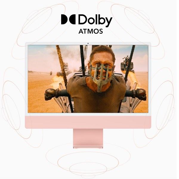 iMac con Dolby Atmos