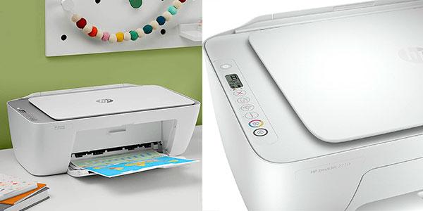 Impresora multifunción HP DeskJet 2710 con Wi-Fi barata