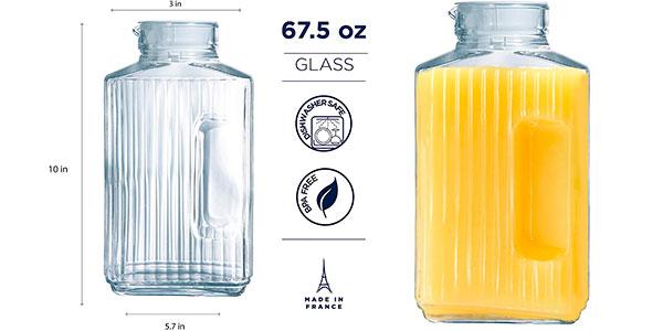 Jarra Arcoroc Quadro de 2 litros para el frigorífico barata