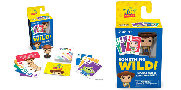 Juego de cartas Toy Story Something Wild! Funko Board games 49354 barato en Amazon