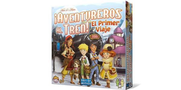 Juego de mesa ¡Aventureros al tren! El primer viaje (Junior DW720827) barato en Amazon