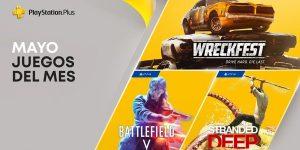 Juegos GRATIS con PS Plus mayo 2021