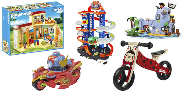 juguetes ofertas Amazon Día Niño primeras marcas
