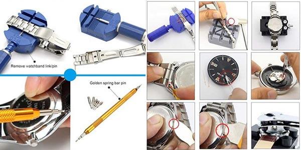 Kit de Reparación de relojes Yuning oferta en Amazon