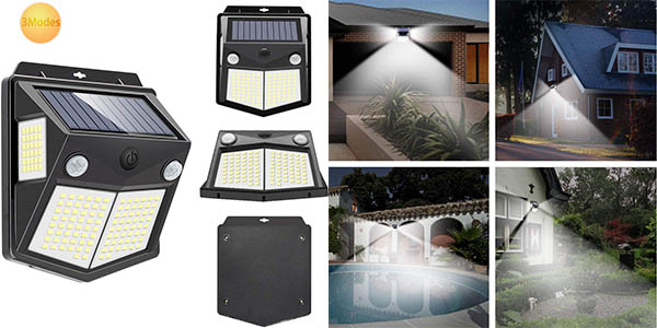 Pack x4 Luces LED solares para exteriores Mewtwo