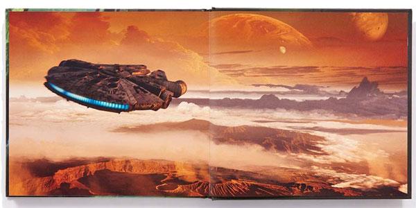 Libro ilustrado The Art of Solo: A Star Wars Story en tapa dura chollo en Amazon