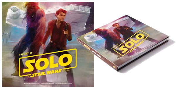 Libro ilustrado The Art of Solo: A Star Wars Story en tapa dura barato en Amazon