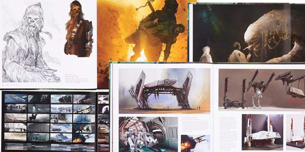 Libro ilustrado The Art of Solo: A Star Wars Story en tapa dura oferta en Amazon