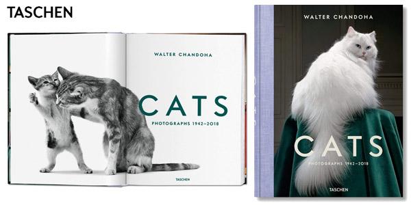 Libro Cats (Fotografías 1942 – 2018) de Walter Chandoha - Taschen tapa dura chollo en Amazon