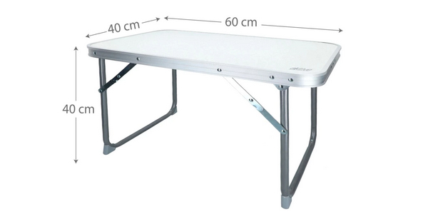 Mesa plegable para cámping Aktiva chollo en AliExpress Plaza